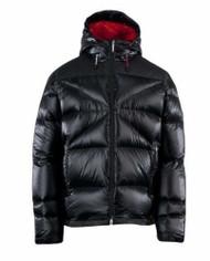 Spyder Men's Bernese Down Jacket, Black, Small