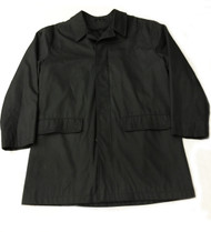DKNY Water Repellent Black Jacket, Medium
