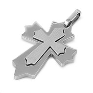 Cross Pendant Stainles Steel 35MM