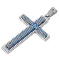 Cross Pendant Stainles Steel 52MM