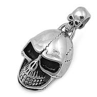 Skull Pendant Stainles Steel 40MM
