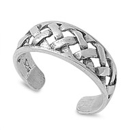 Artisan Craft Knuckle/Toe Ring Sterling Silver  6MM