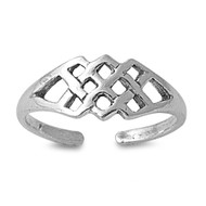 Wicca Craft Knuckle/Toe Ring Sterling Silver  6MM