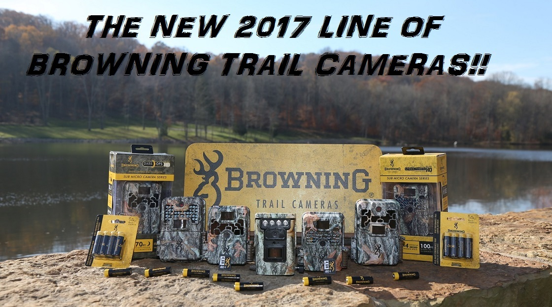 2017 Browning Trail Cameras
