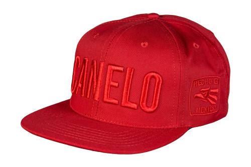 Canelo Red Snapback