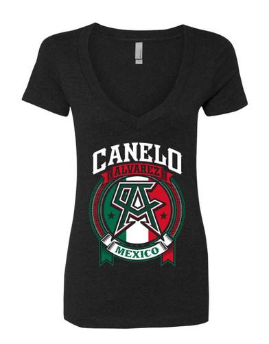 """Canelo Alvarez """"Power"""" Womens Shirt"""