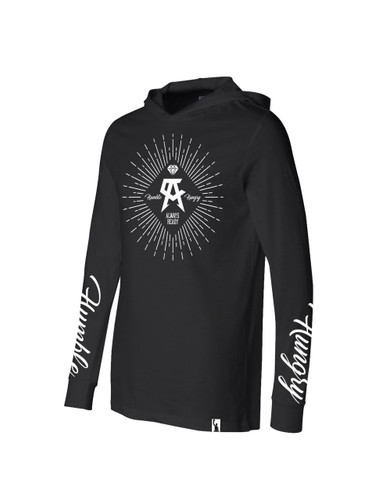 """Diamonds"" Long Sleeve Hoodie"