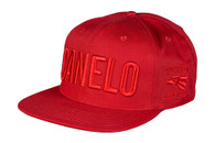 "Canelo Alvarez ""Canelo"" Red on Red Snapback"