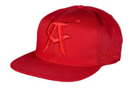Canelo Alvarez Logo Red on Red Snapback