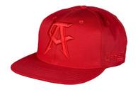Canelo Alvarez Logo Red on Red Snapback