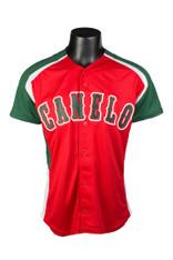 CA BATTER UP Mens Red Baseball Jersey
