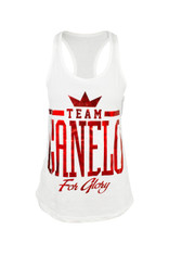 TEAM CANELO in fiery red foil