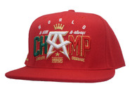 Mexican Champ Snap Back RED
