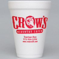 Personalized 12 oz. Foam Cups (Set of 50)
