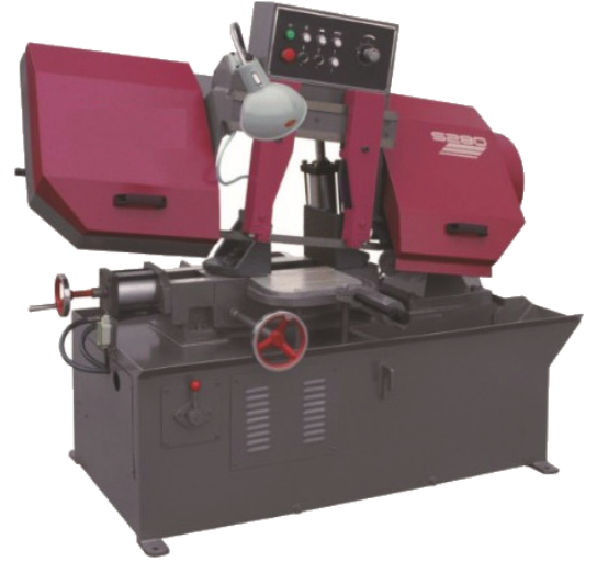 horizontal band saw machine