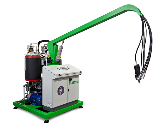 ULTRAMIX SERIES - HIGH PRESSURE FOAMING MACHINE MADE IN ITALY BY ISC - LAROSA