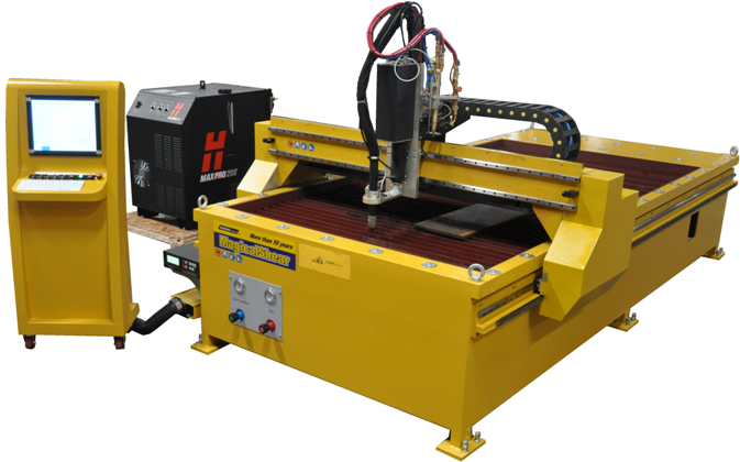 GSII-3015TD. - TABLE TYPE CNC PLASMA CUTTING MACHINE MADE IN CHINA BY HUGONG