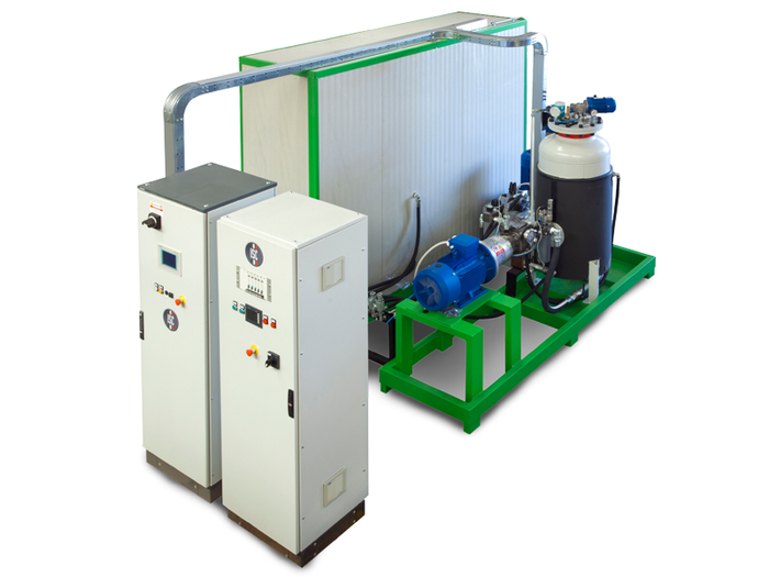 C PENTANE - HIGH PRESSURE FOAMING MACHINE