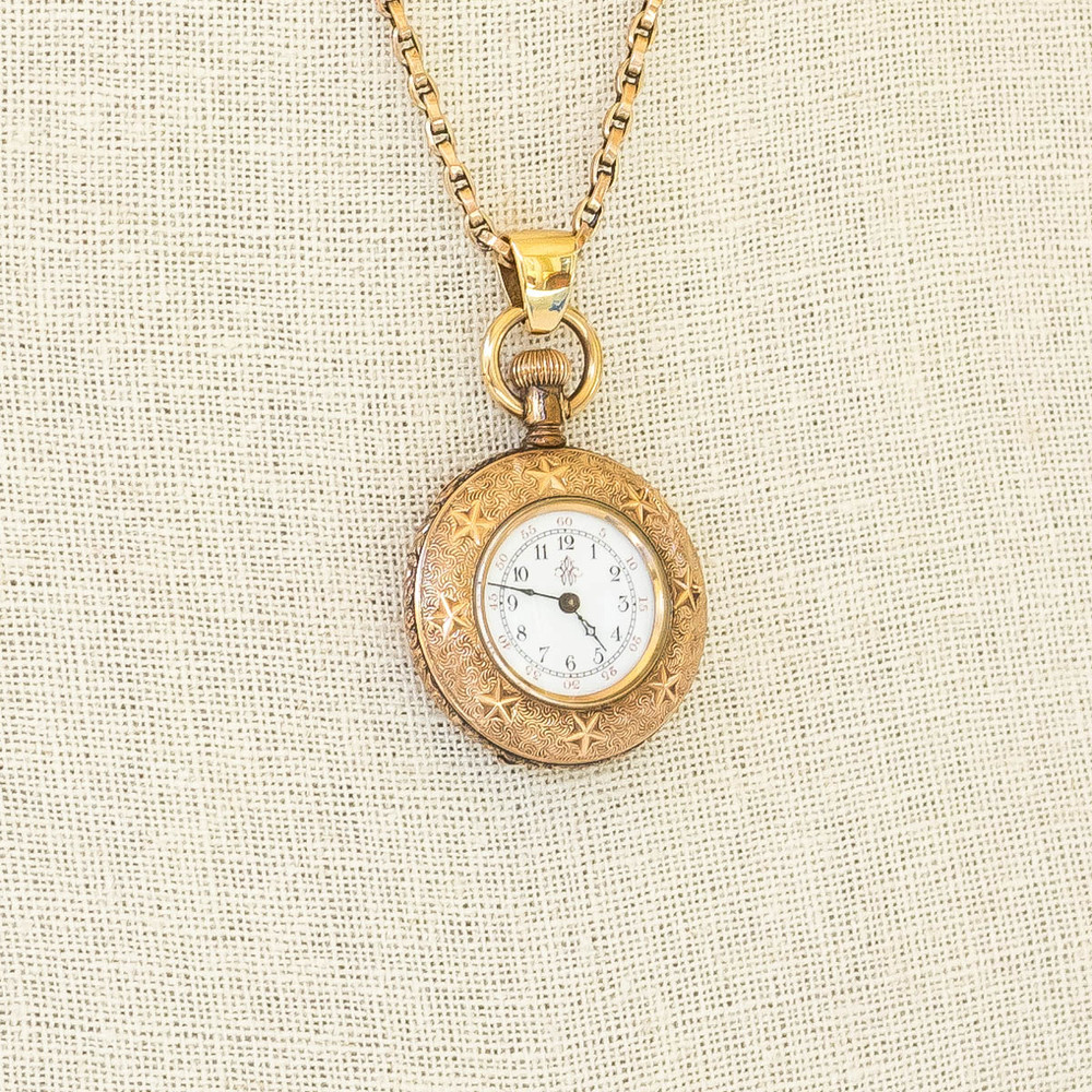 "Antique: Victorian ""Shooting Stars"" Pocket Watch"