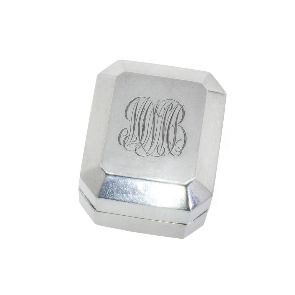 vintage birks sterling silver ring box sugar et cie