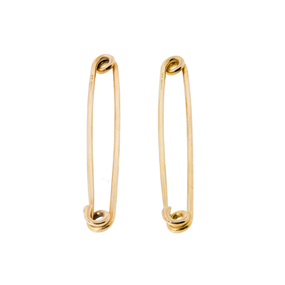 Vintage Tiffany & Co. Gold Safety Pins