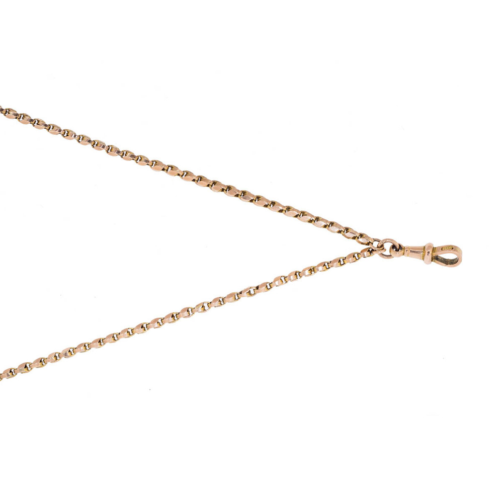 Antique Long Gold Chain