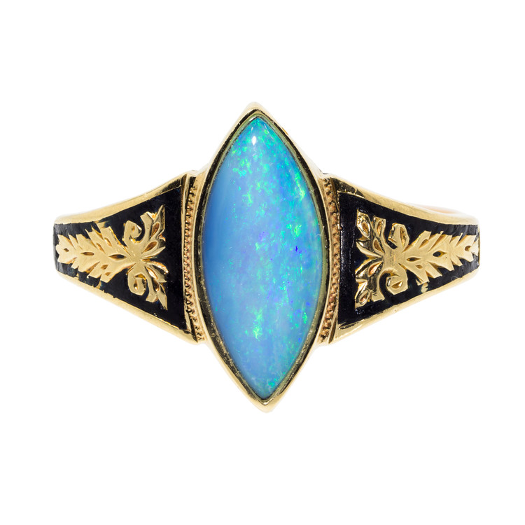 Antique Victorian Opal Ring