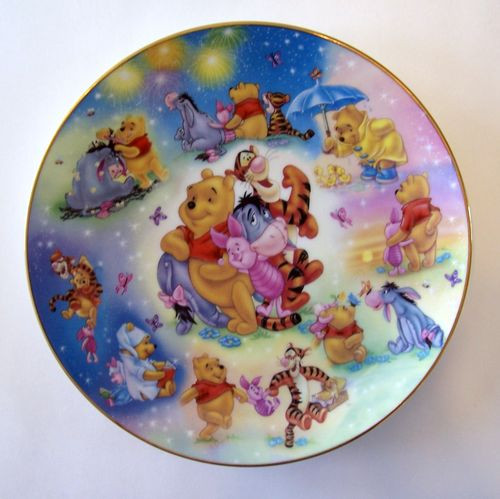 Forever Friends Collector Plate Winnie The Pooh