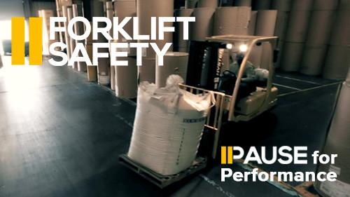 Pause for Performance: Forklift Safety