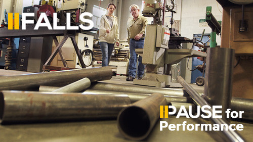 Pause for Performance: Falls