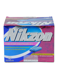 Genomma Lab Nikzon Tabletas masticables