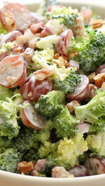 SKINNY BROCCOLI SALAD - 1 lb