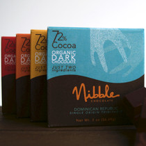 Four Bar Flight 72% Organic Dark Chocolate