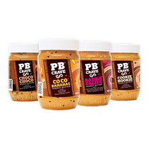 PB CRAVE 4-FLAVOR VARIETY PACK - Peanut Butter