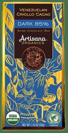 Swiss Chocolate Bar – Dark 85%  Venezuelan Criollo Cacao