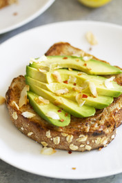 Avocado Coconut Toast