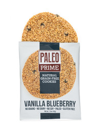 Vanilla Blueberry Paleo Cookies 12 pack
