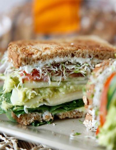 Loaded Veggie Sandwich