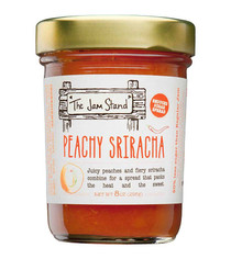 Peachy Sriracha Jam - The Jam Stand