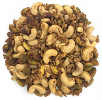 Organic Raw Sprouted BBQ Cashews, Pistachios & Sunnies