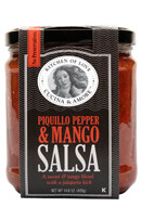 Cucina & Amore Piquillo Pepper And Mango Salsa, 14.8 Oz. Pack Of 6