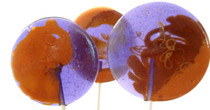 Peanut Butter & Jelly Gourmet Lollipops - 7 Included