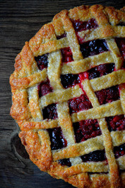 Old Fashioned Sangria Pie