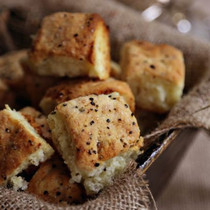 Black Pepper Bacon Biscuits