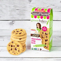 chocolate chip love | cookies - ginny bakes organics
