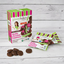 double chocolate happiness | minis 6 pack - ginny bakes organics