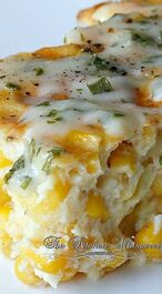 Baked Creamy Corn Casserole
