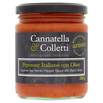 Sweet Ramiro Pepper & Olive Sauce - Cannatella & Colletti