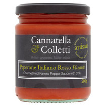 Sweet Ramiro Pepper Sauce With Chilli - Cannatella & Colletti