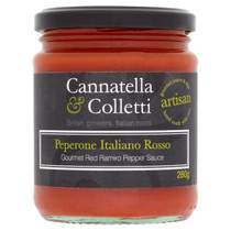 Sweet Ramiro Pepper Saucei - Cannatella & Colletti